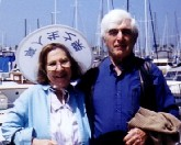Vivian and Ben, Dana Point, CA, 1988