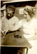 Vivian's parents, Rose and David Fine, c. 1935